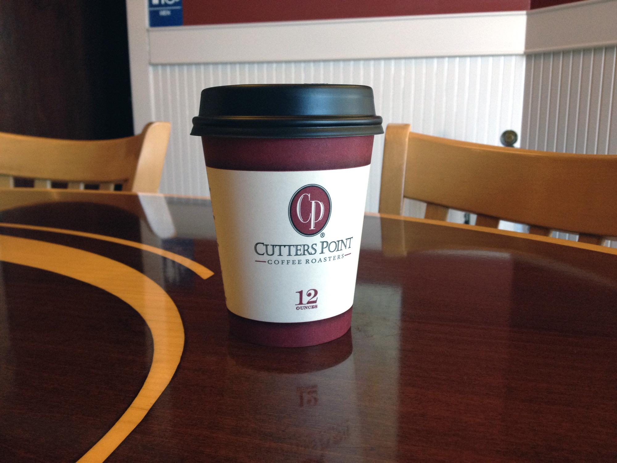 Cutters Point Coffee cup