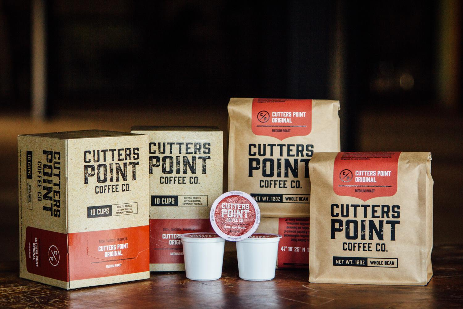 Photo of K-cups and packaging